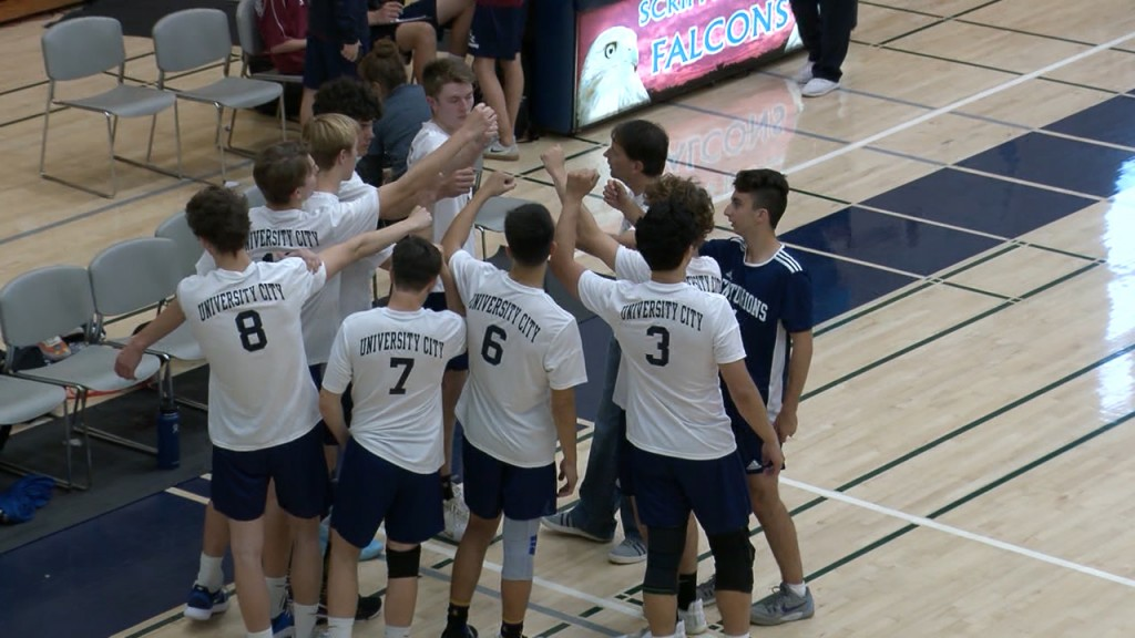 3/6/20 Boys Volleyball: Scripps Ramch 3, University City 0