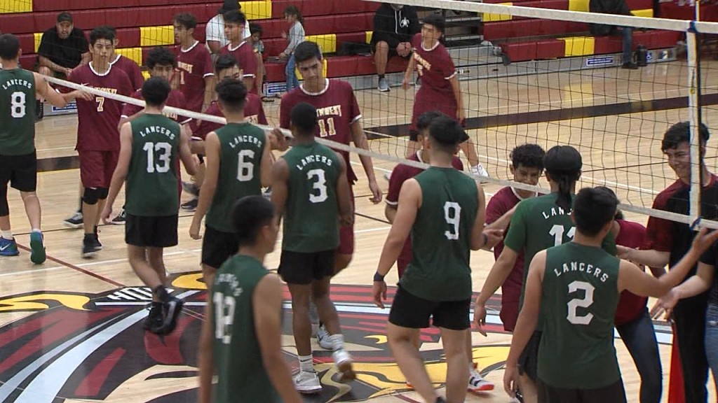 3/10/20 Boys Volleyball: Hilltop 3, Southwest 2