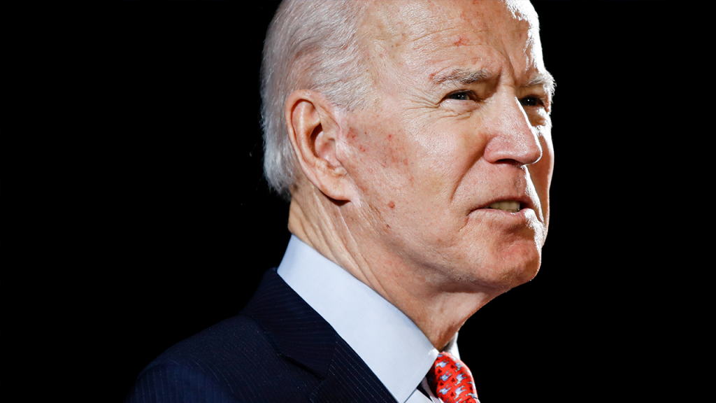 Joe Biden Close Up