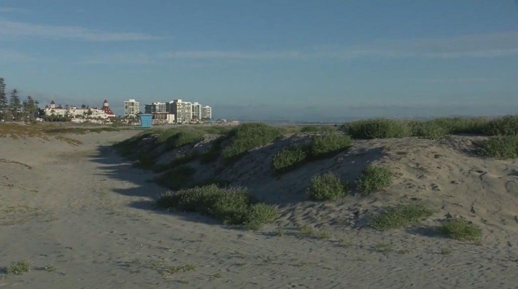 Coronado Beach Closures