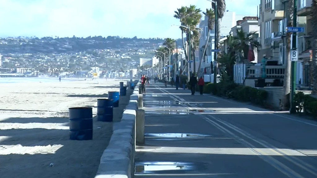 Empty Pb Boardwalk
