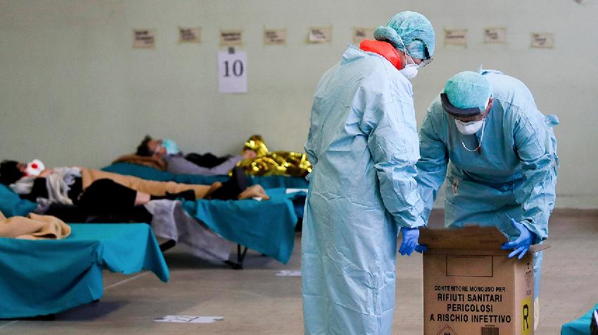 Italy Coronavirus Outbreak