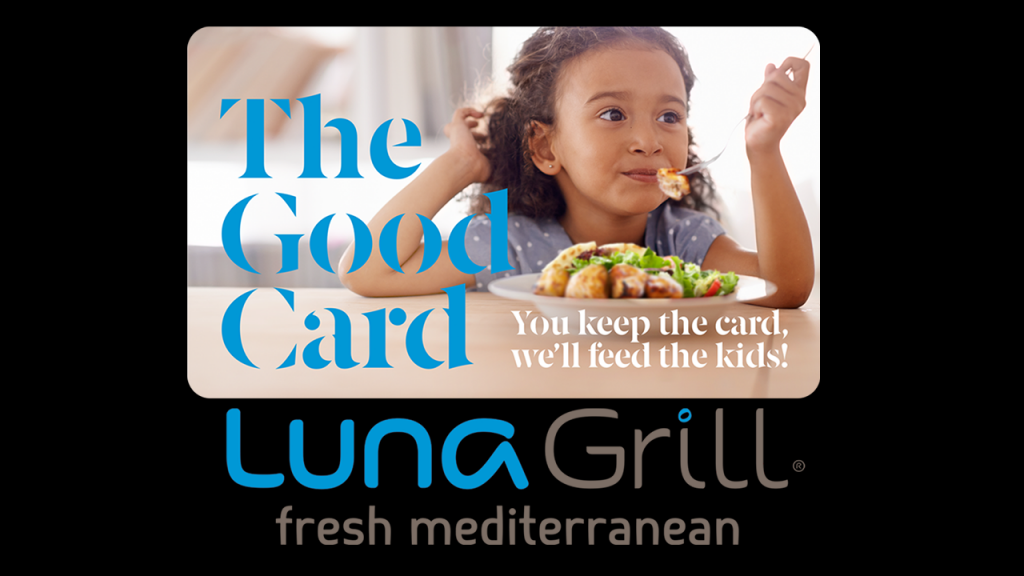 Luna Grill Cold Card