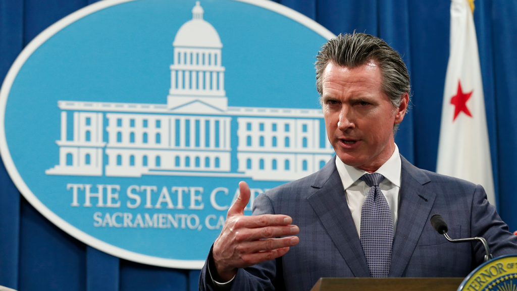 Newsom On Coronavirus In California