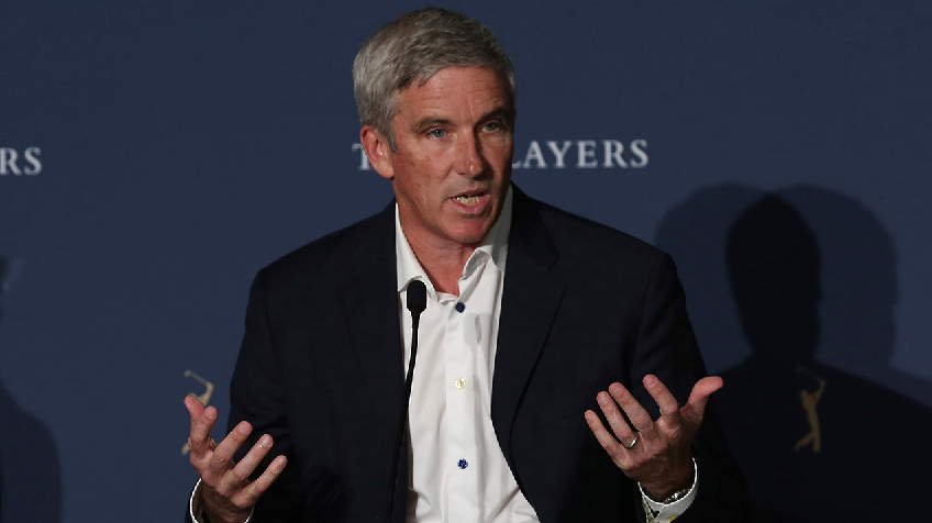 Pga Tour Commissioner Monahan The Players