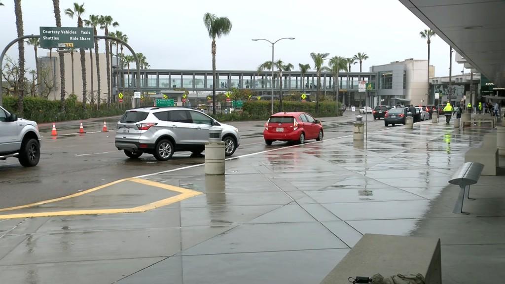 San Diego Airport No Travelers