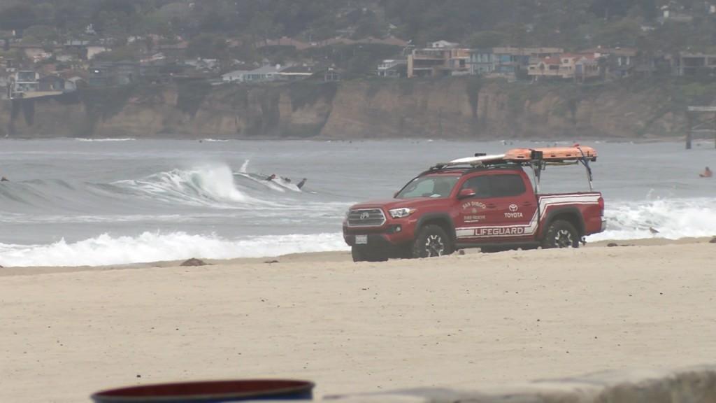 San Diego Beaches Closed