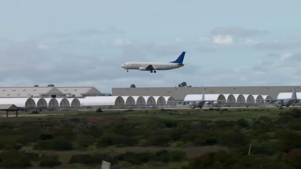 Third Plane Coronavirus Lands At Miramar