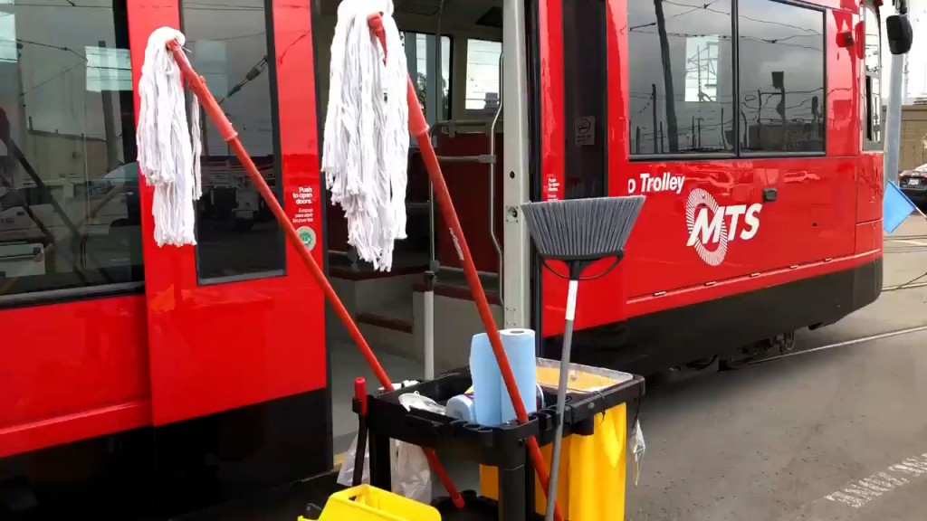 Trolley Mts Cleaning