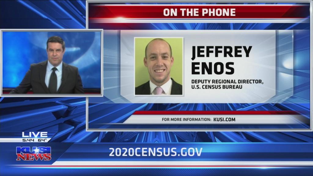 Jeffrey Enos Census Day Phoner