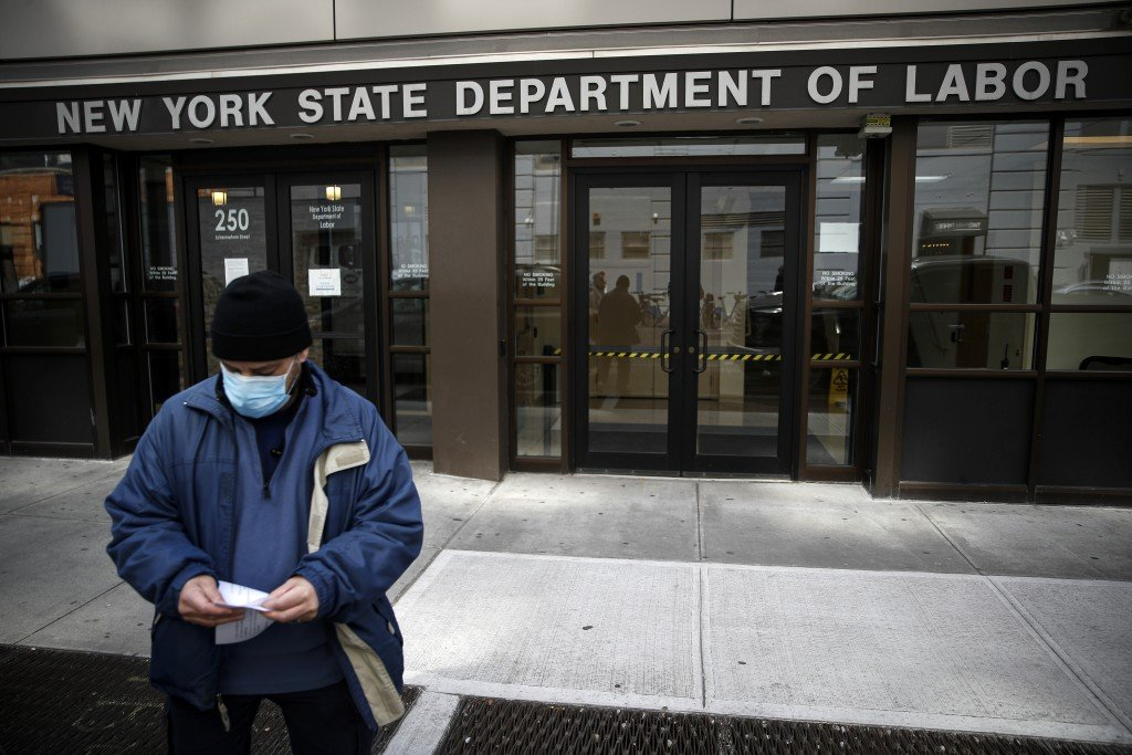 Virus Outbreak Unemployment Overload