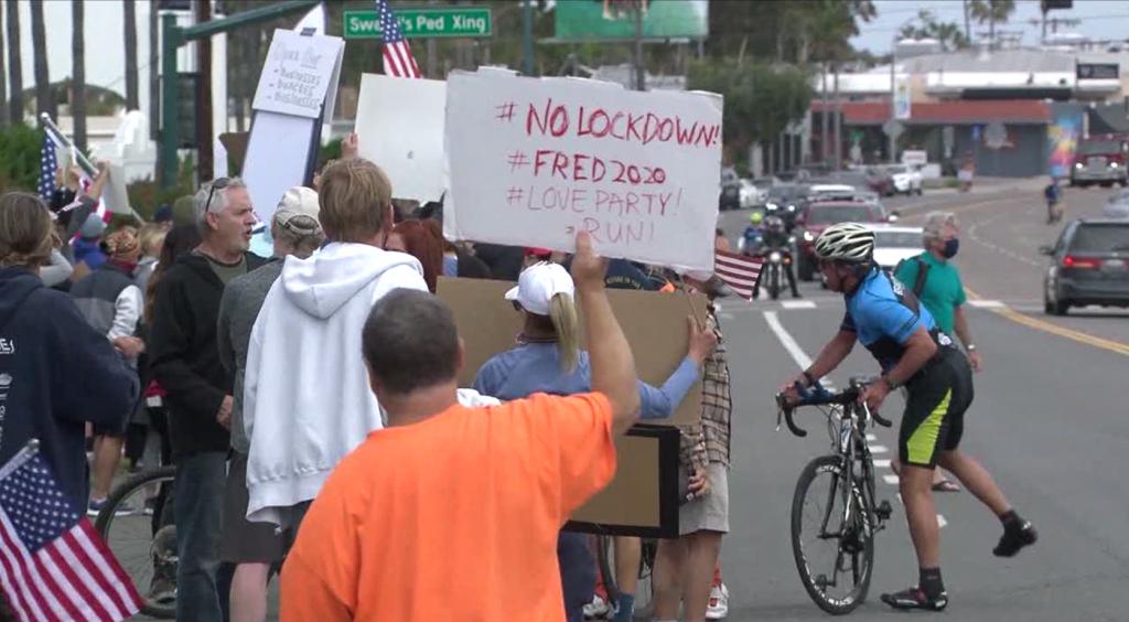 Covid 19 Protest