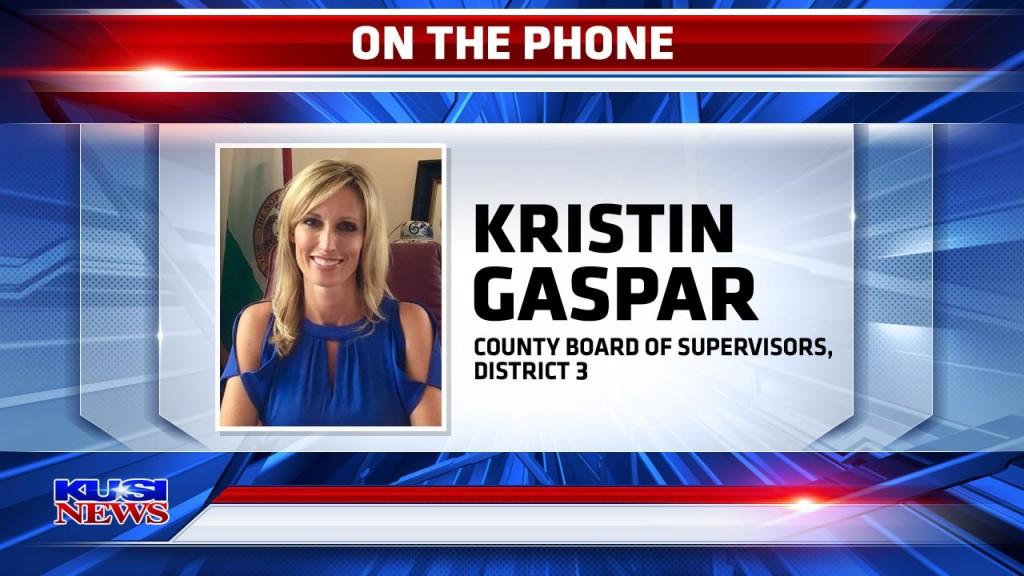 County Supervisor Kristin Gaspar