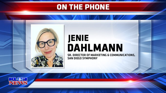 Kenie Dahlmann San Diego Symphony Phoner