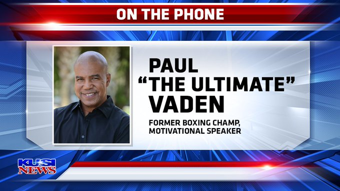 Paul Vaden Phoner Former Boxing Champ