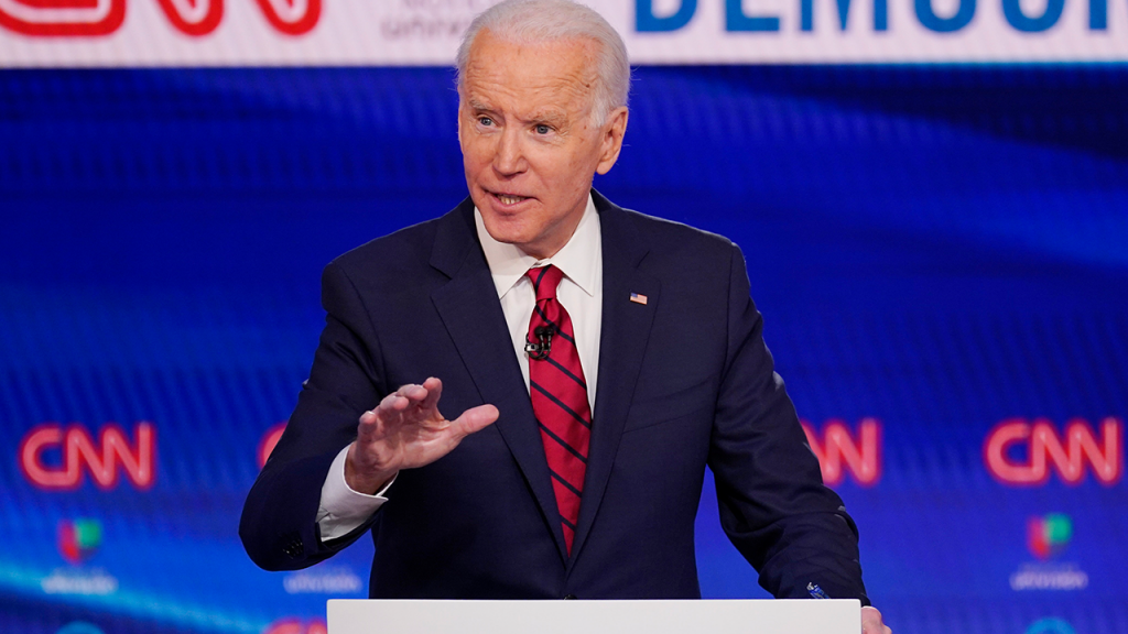 Joe Biden At Debate