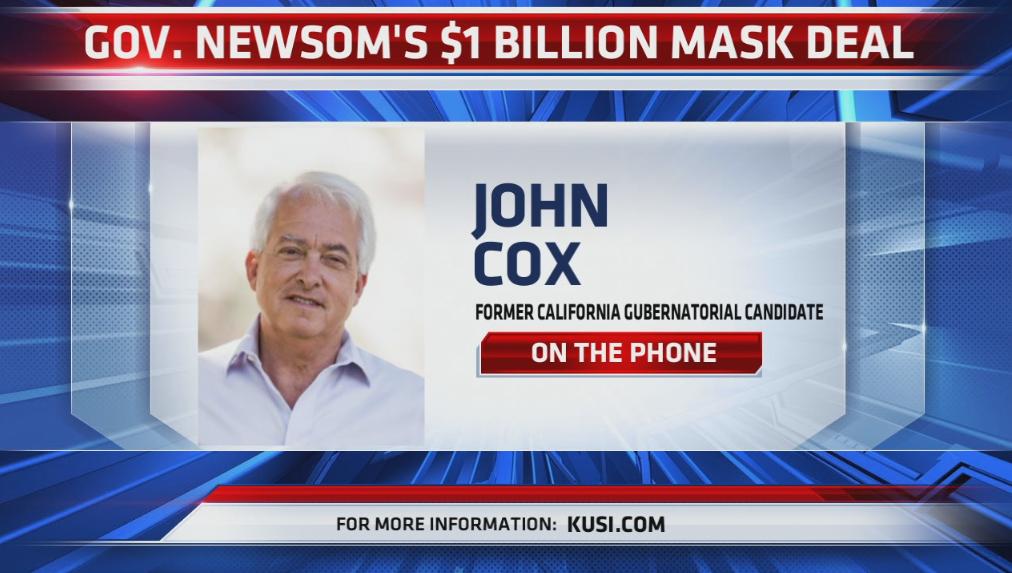 John Cox On Newsom Leadership Phoner