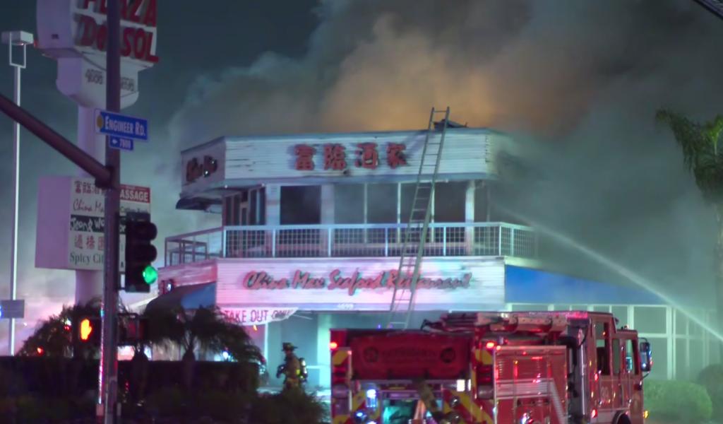 Kearny Mesa Restaurant Fire