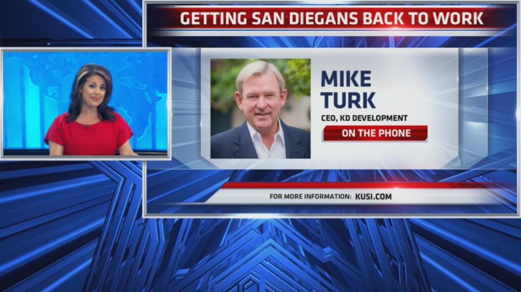 Mike Turk Getting San Diegans Back To Work