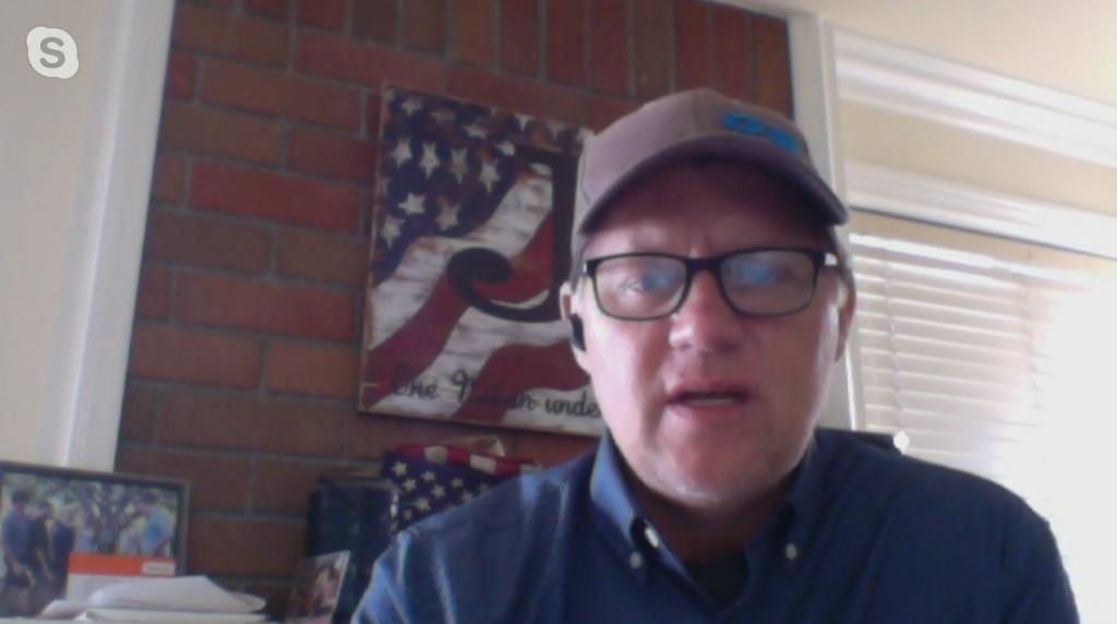 State Sentor Brian Jones Skype