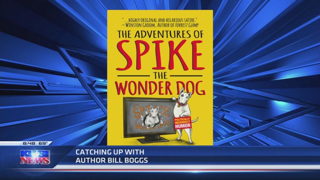 "Bill's Comic Novel, ""the Adventures Of Spike The Wonder Dog,"""