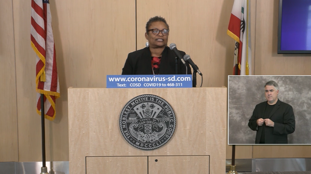 Dr. Wilma Wooten Confirms There Are Only 6 Purely Coronavirus Deaths In San Diego County