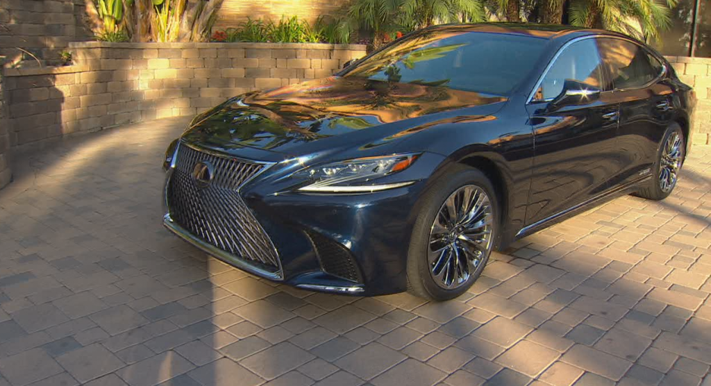 2020 Lexus Ls 500h Hybrid