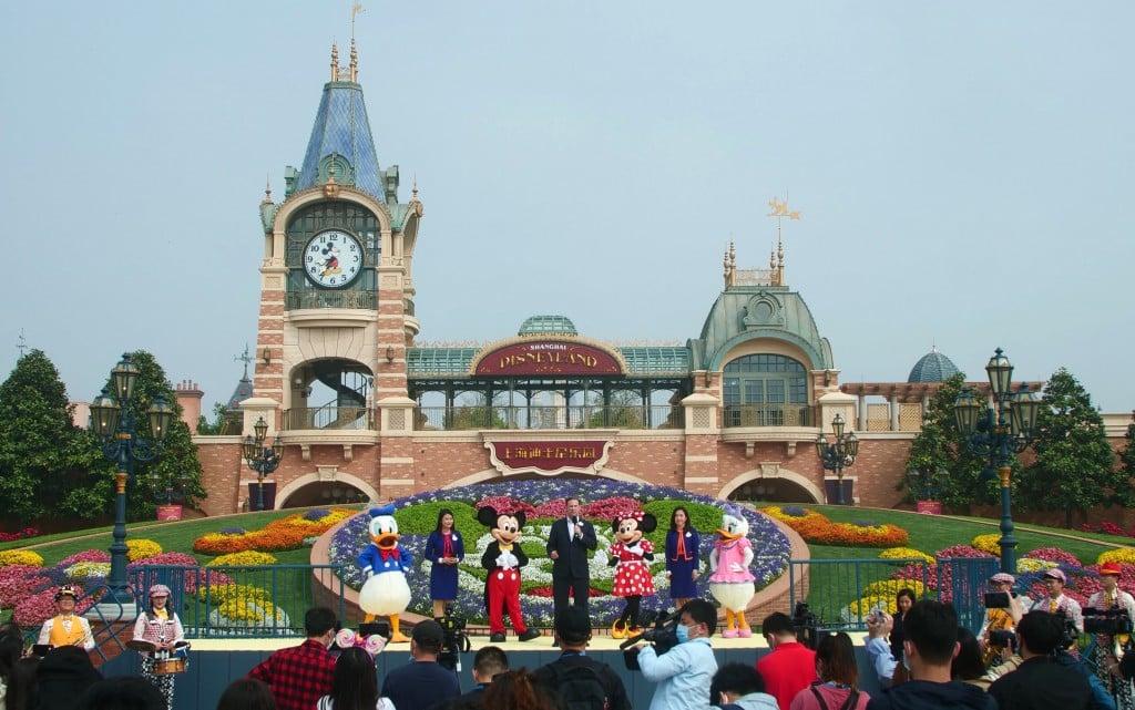 Virus Outbreak China Disneyland