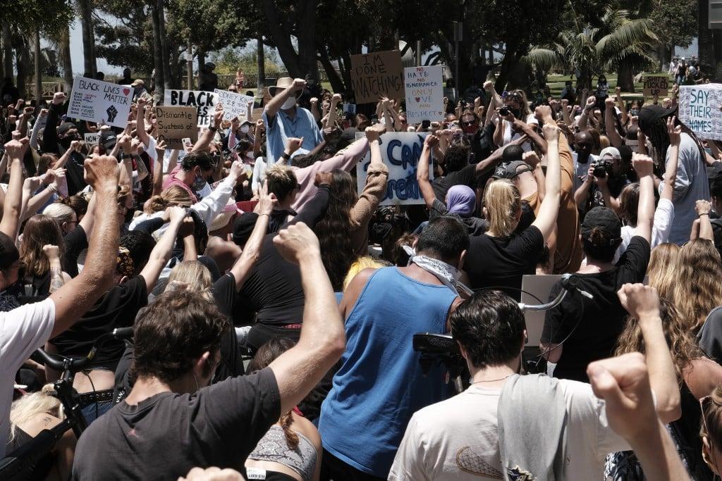 America Protests California