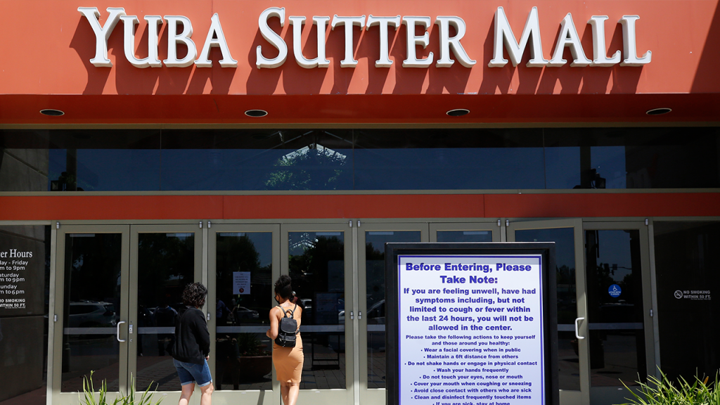 Yuba County Sutter Mall Reopens