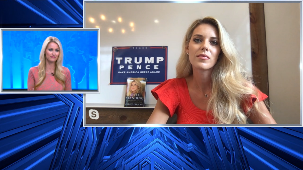 Carrie Prejean Women For Trump