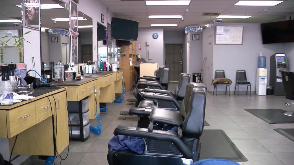 Empty Salon Covid19