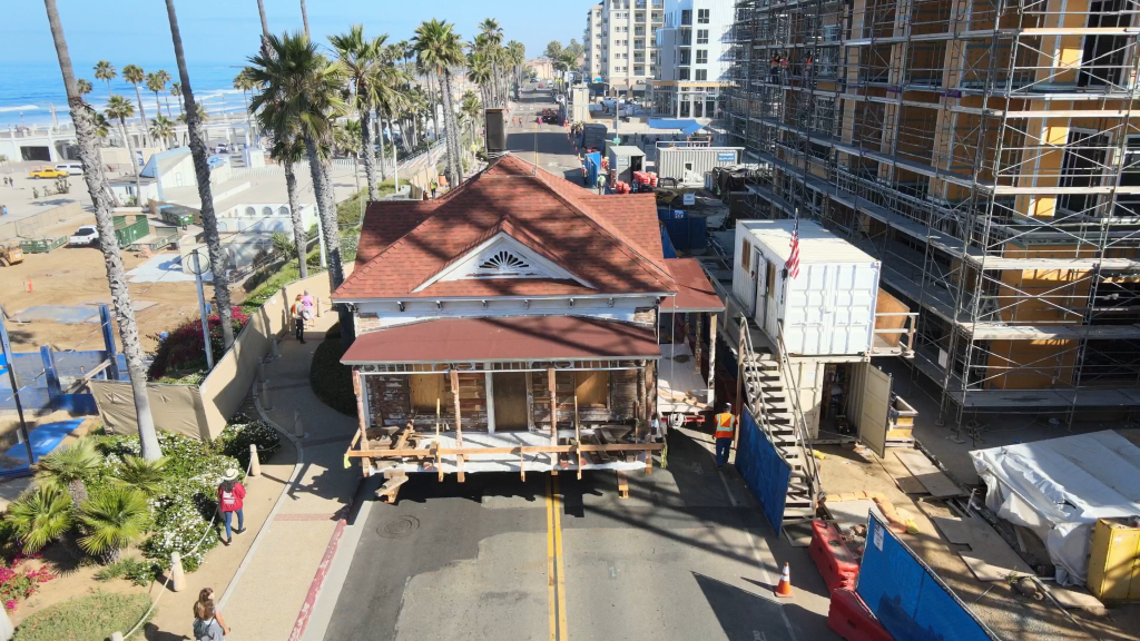 Top Gun House Being Moved