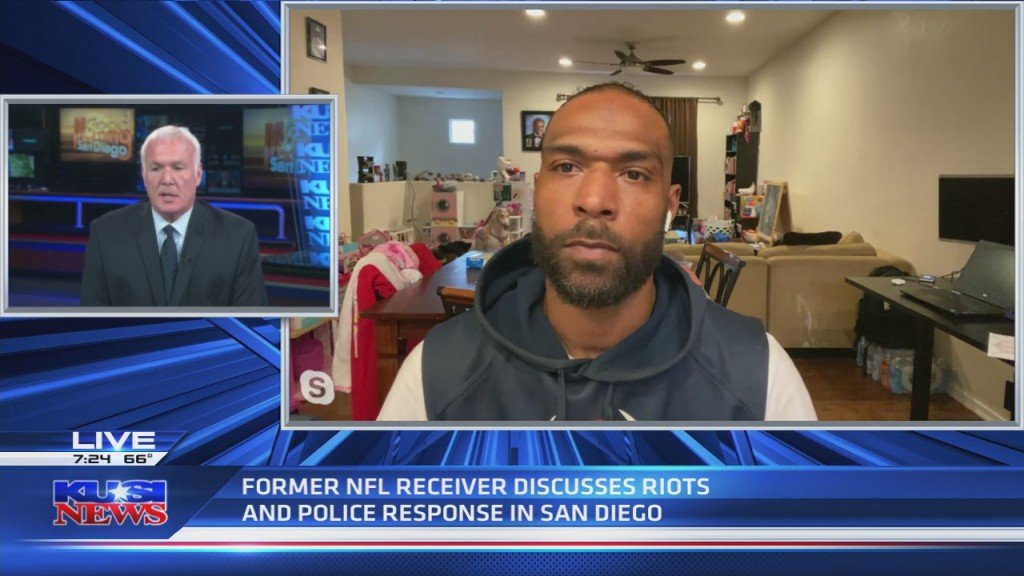 Demarco Sampson, Former Nfl Receiver On Protests In Sd