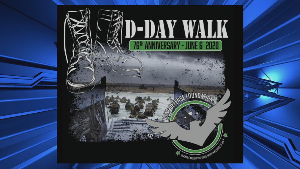 76th Anniversary Dday Walk