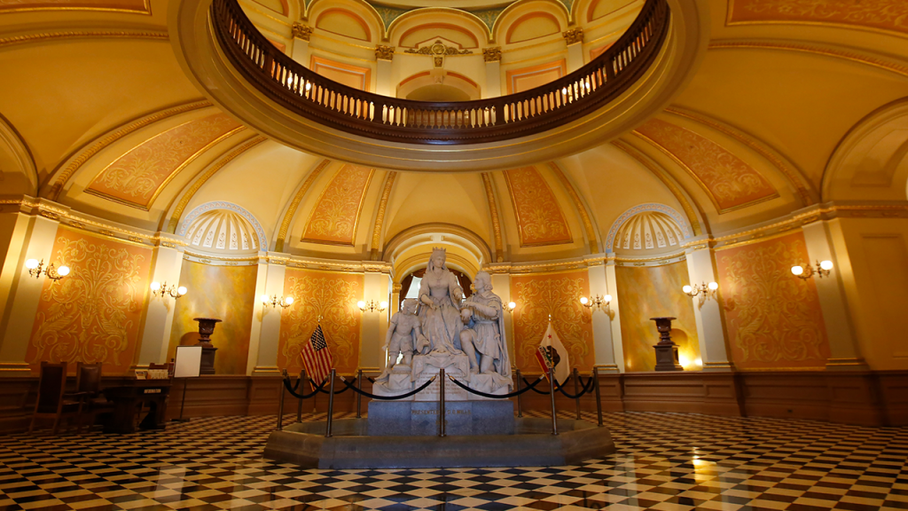 Christopher Columbus In California State Capitol