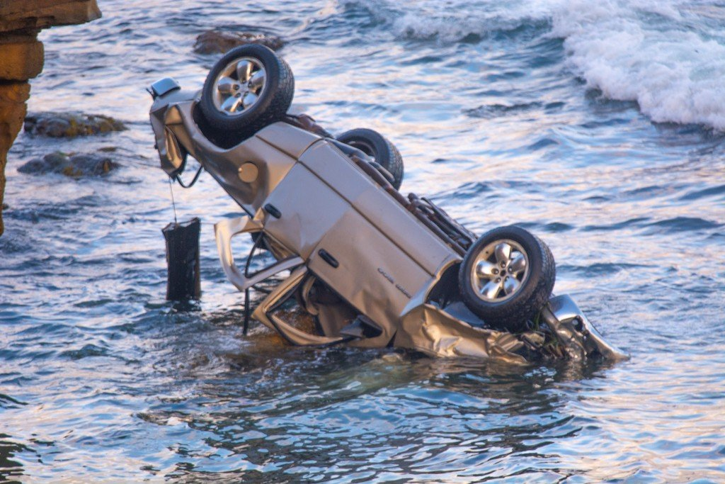 Sunset Cliffs Crash