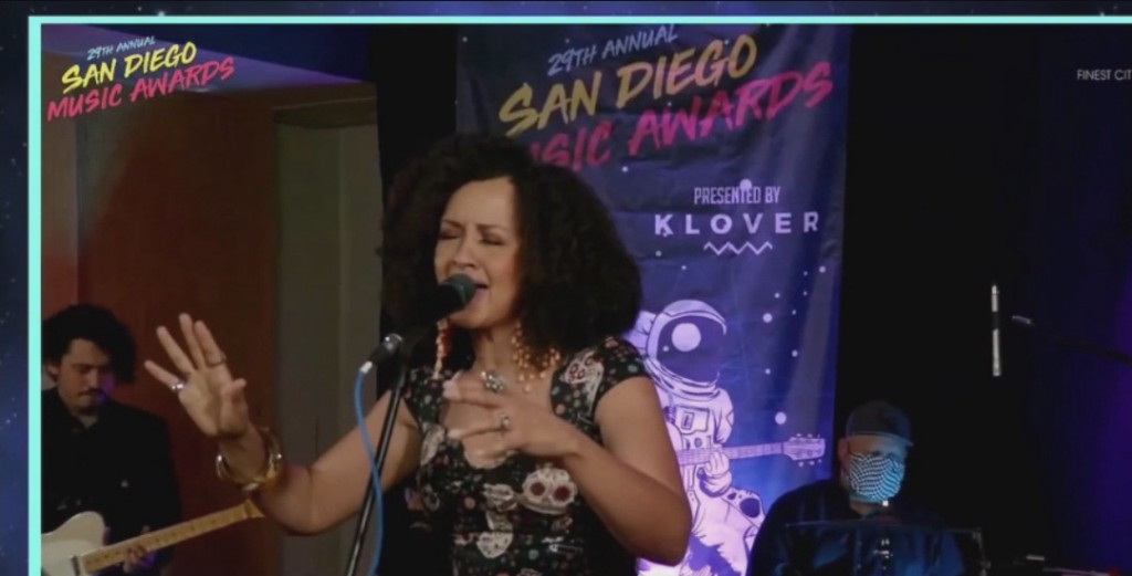 Rebecca Jade Artist Of The Year San Diego Music Awards