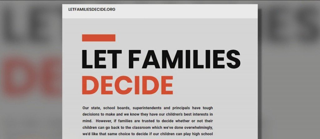 Let Families Decide: Youth Sports During Covid19