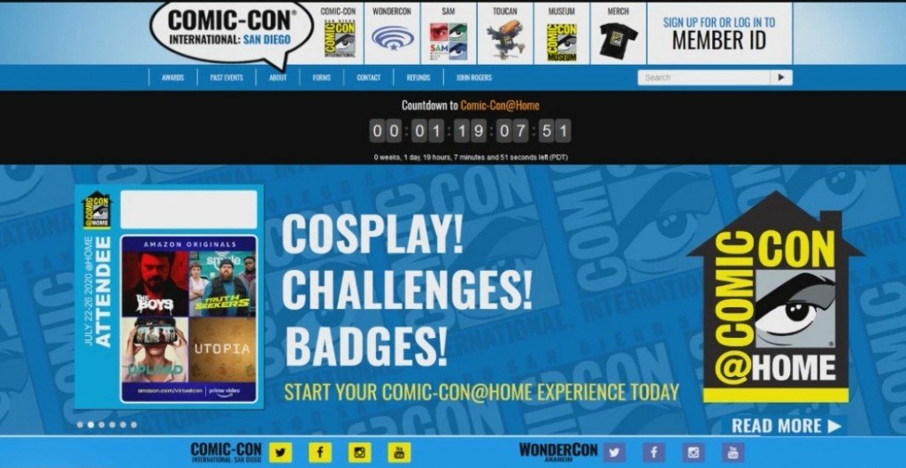 Virtual San Diego Comiccon