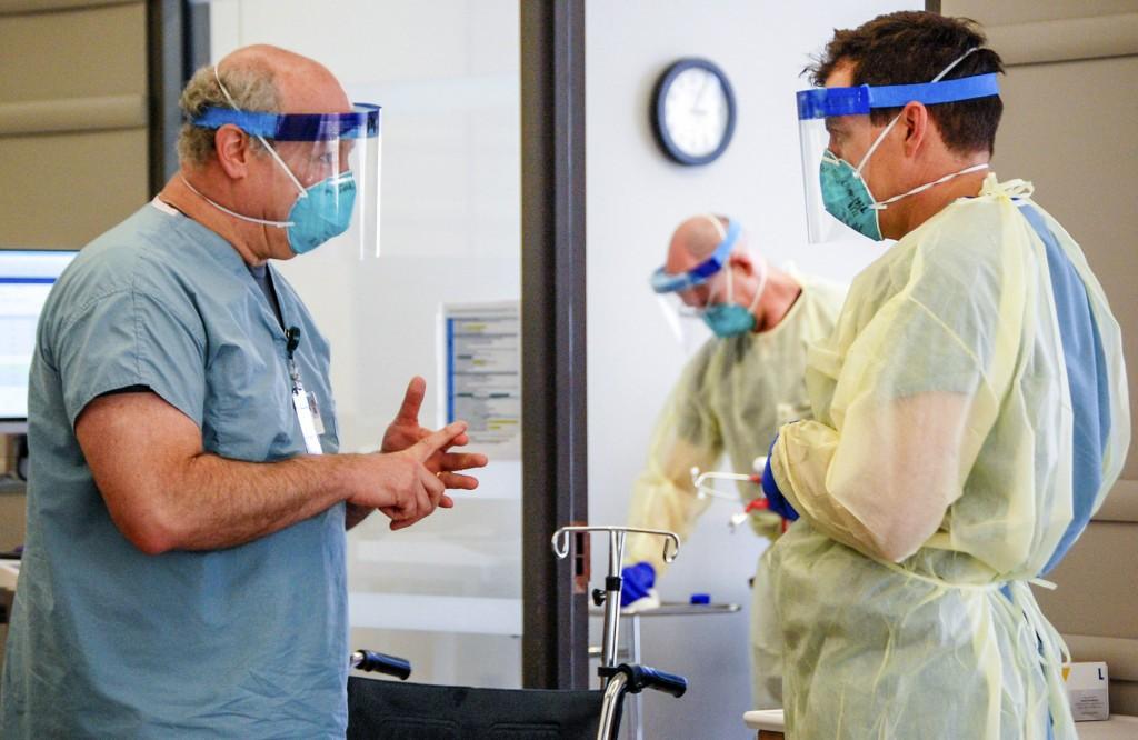 Virus Outbreak Health Care Frustrations