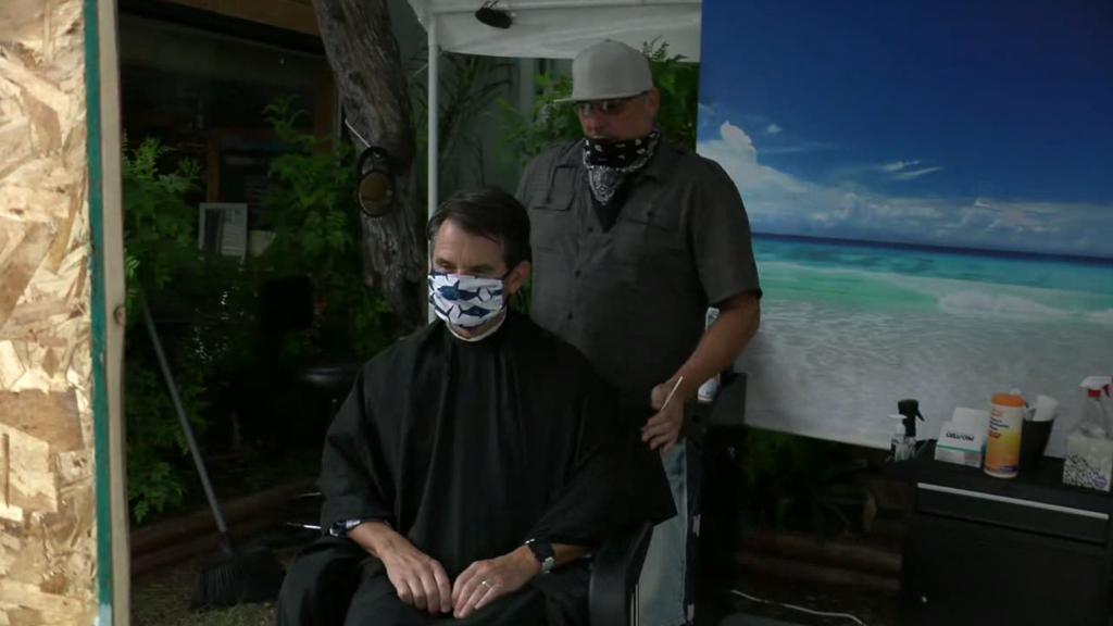 Ocean Beach Barber Covid 19