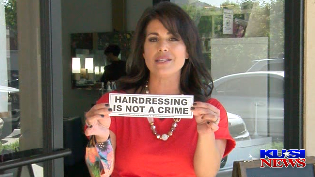 Hairdressing Is Not A Crime