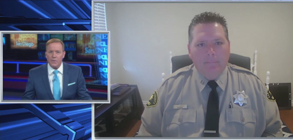 Virtual Community Connection With Deputies In San Marcos