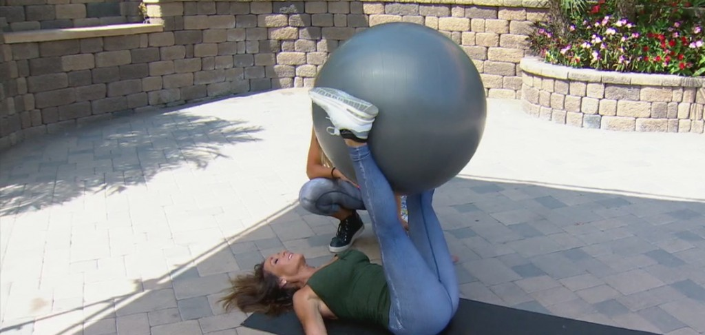 Cindy Whitemarsh Stability Ball Core And More