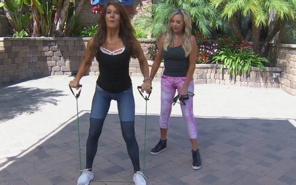 Cindy Whitmarsh: At Home Band Blast Workout