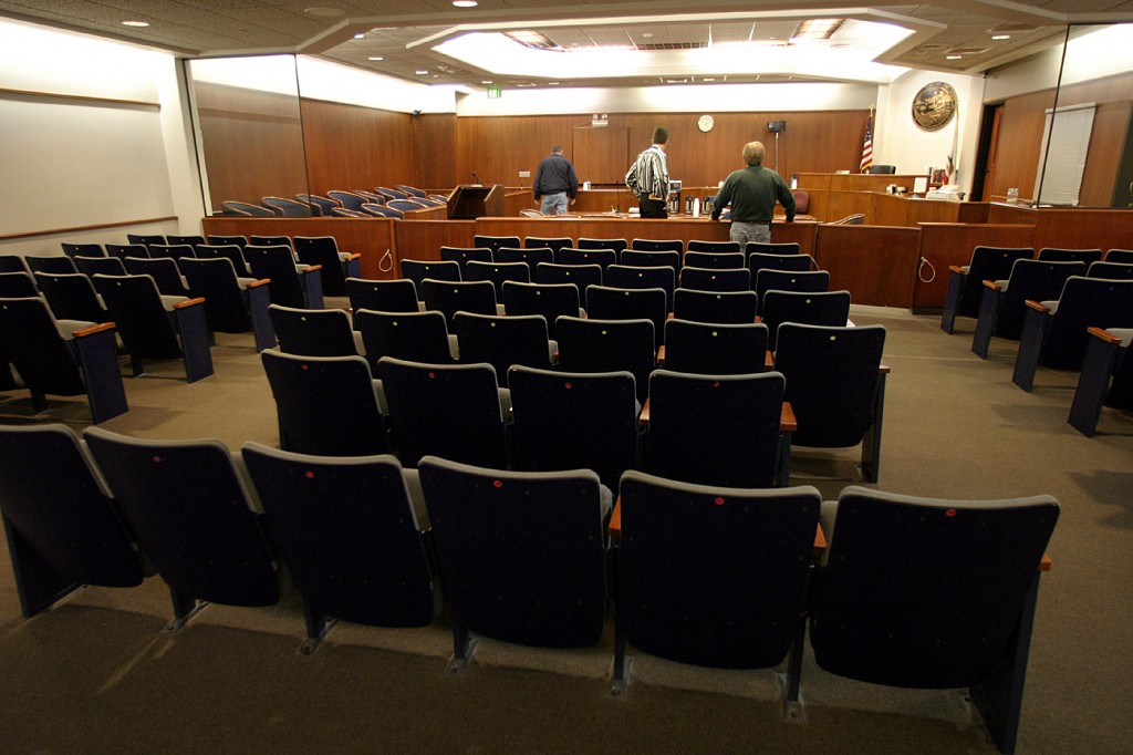 Santa Maria County Courtroom No. 8