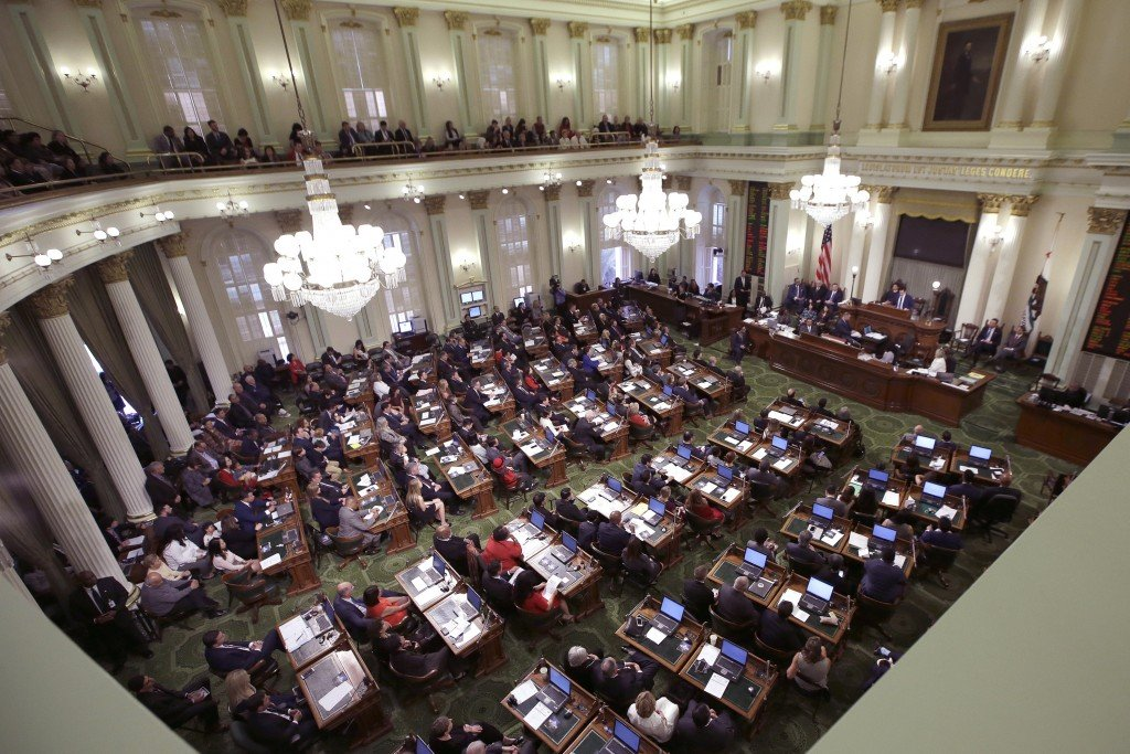 California Legislature Proxy Voting