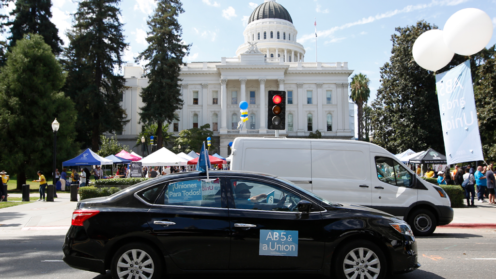 California Rideshare Lawsuit