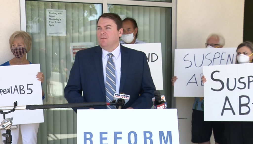 Demaio Launches Petition To Suspend Ab 5